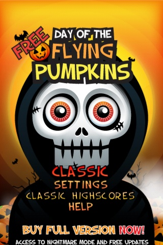 Screenshot Flying Pumpkins