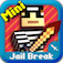 Cops N Robbers (Jail Break) - Mine Mini Game With Survival Multiplayer logo